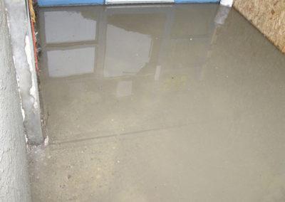 outside property flooding water damage calgary