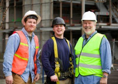 calgary property restoration team at job site