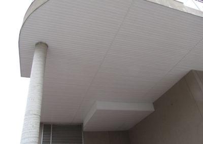 siding below balcony condo unit building calgary