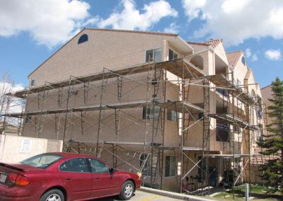 building envelope calgary stucco repairs condo building