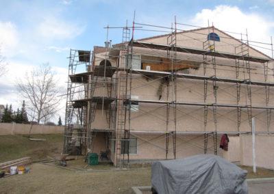 repairing building envelope stucco multi unit