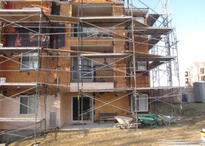 building envelope replacing stucco framing calgary