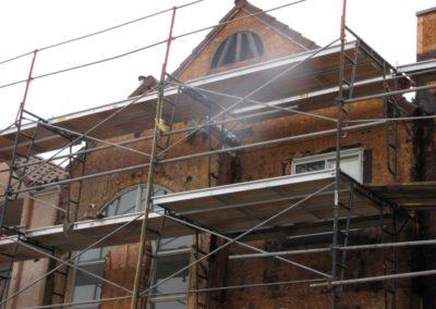 building envelope repairs stucco condo unit calgary