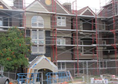 building envelope restoration on condo unit calgary