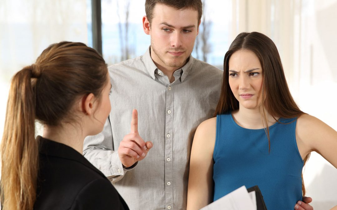 property manager dealing with difficult tenants